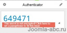 two factor authentication joomla 6