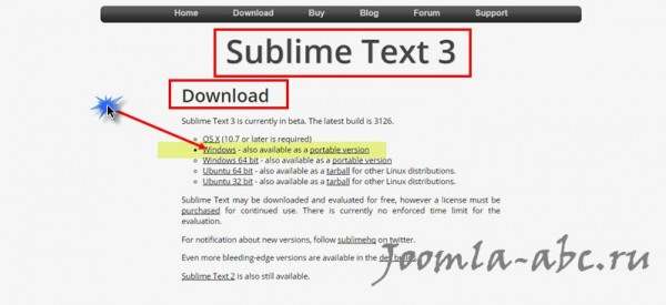 Sublime Text downloads